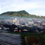 Lanskap Dieng dari Bukit Skoter oleh Arini tri Kusuma