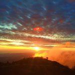 Sunrise Gunung Prau via Helen Yap
