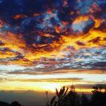 Sunrise Sikunir Dieng via bintang aryasetia