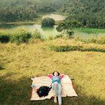 Telaga Warna Dieng dari Bukit Sidengkeng Petak 9 oleh mutiara soputan