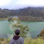 Telaga Warna Dieng dari Bukit Sidengkeng Wana Wisata Petak 9 via  Robi Rahardi