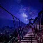 Milkyway Dieng via Jembatan Merah Putih by Uray Black Ink